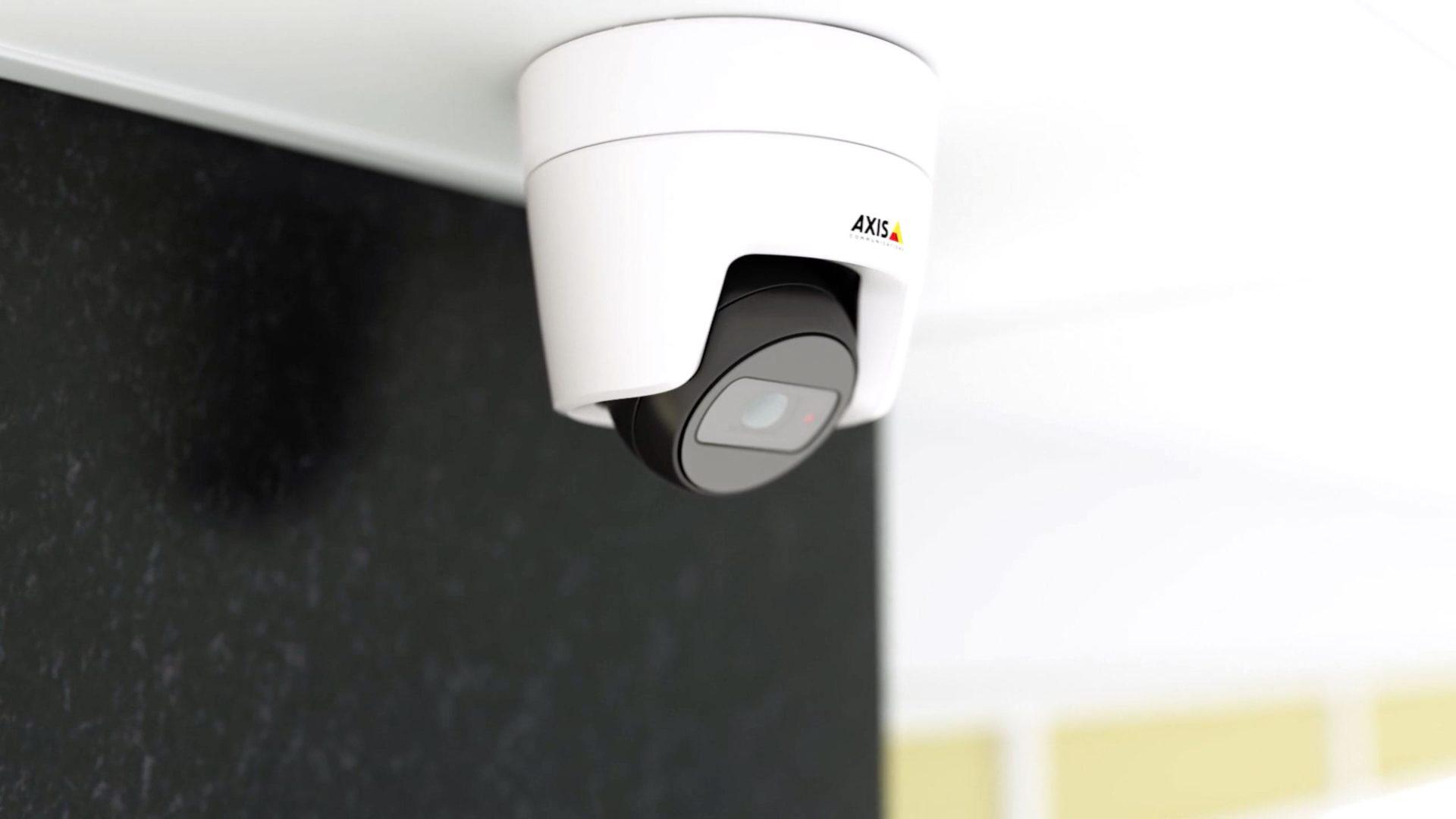 axis övervakningskamera