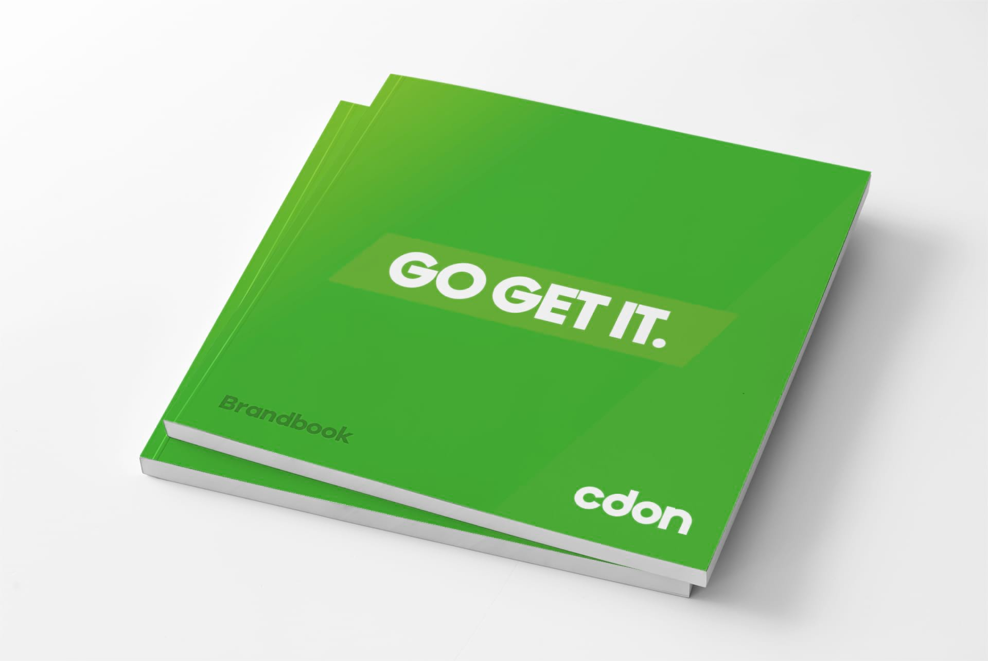 cdon brandbook, go get it